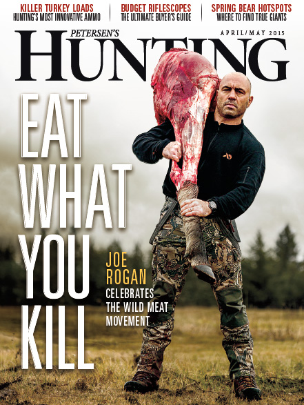 Petersen's Hunting Magazine - Joe Rogan Cover